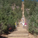 Just Below the Steepest Section of the Manitou Incline