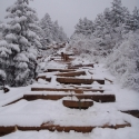 Winter on the Manitou Incline