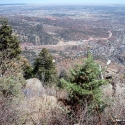 View from Top of Manitou Incline