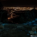 Colorado Springs from Manitou Incline Summit