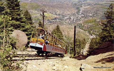 1960s Manitou Incline Cable Car