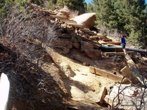 Manitou Incline at Barr Trail Cut-off