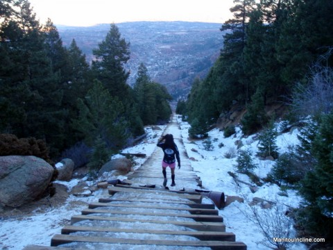 Manitou Incline January 22, 2012