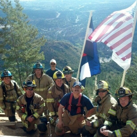 Firefighters 9-11 Memorial Hike