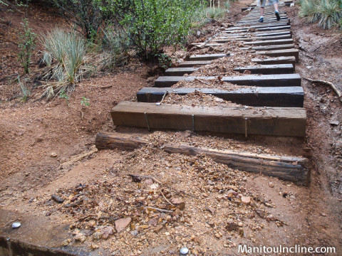 Rain Washed Manitou Incline