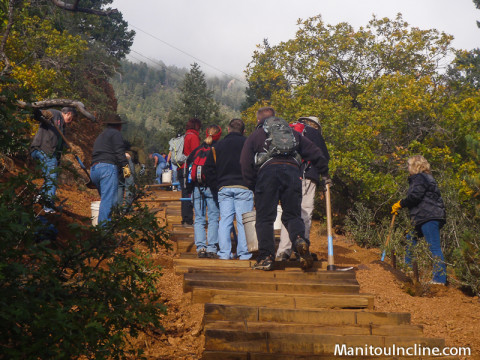 Manitou Incline Work Day