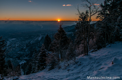 Manitou Incline Sunrise
