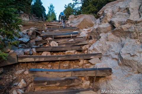 Eroded Section of Manitou Incline