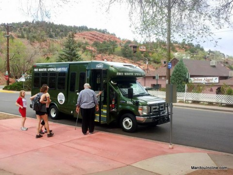 Manitou Incline Shuttle