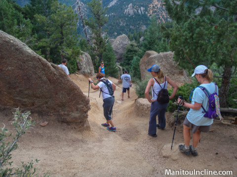 Manitou Incline to Barr Trail Connector