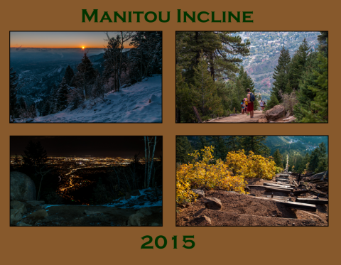 Manitou Incline Calendar 2015 Cover