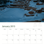 Manitou Incline Calendar Sample January 2015