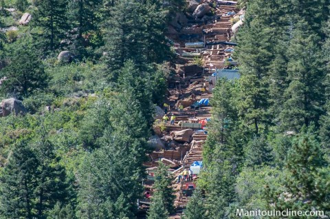 Manitou Incline Repairs 2014