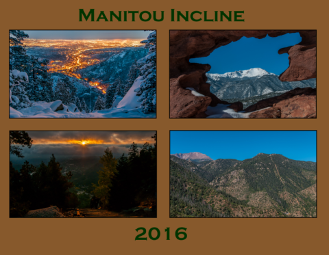 Manitou Incline Calendar 2016 Cover