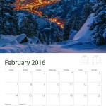 Manitou Incline Calendar Sample February 2016