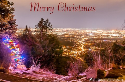 Manitou Incline Merry Christmas