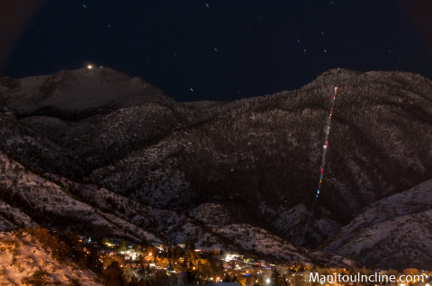 Manitou Incline Untied in Orange