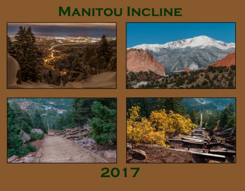 2017 Manitou Incline Calendar Cover