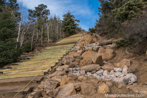 Manitou Incline Phase 3 Repairs